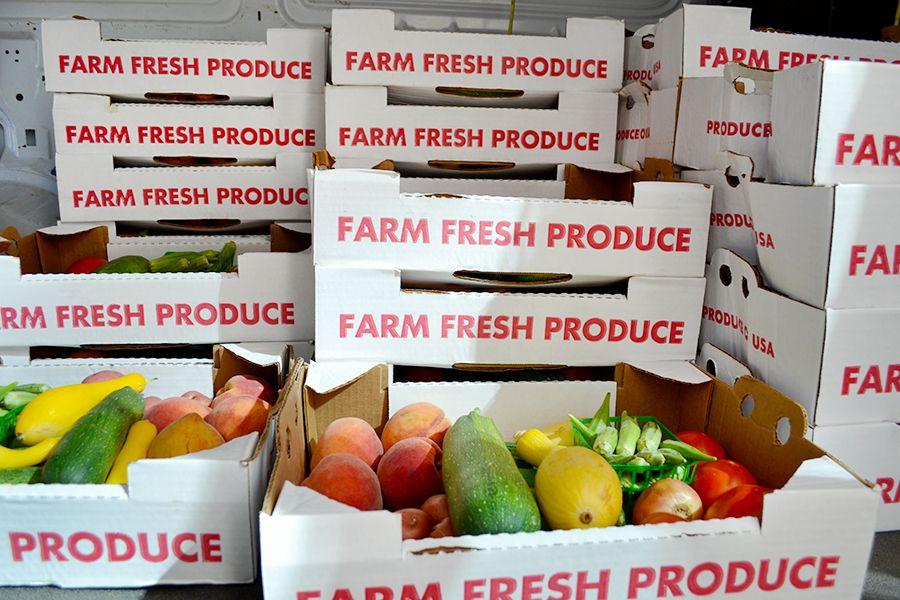 Farm to Work Produce Boxes