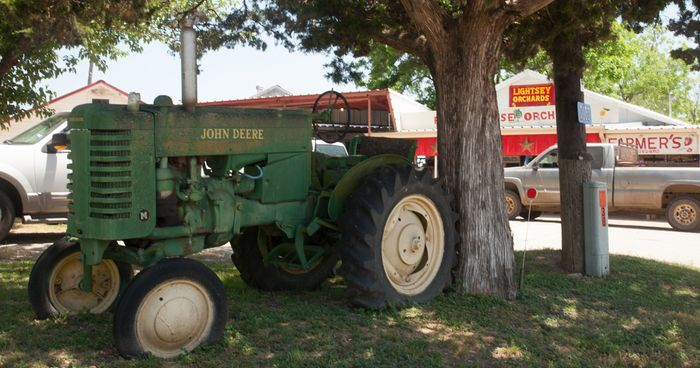 Tractor at Lightsey Farm
