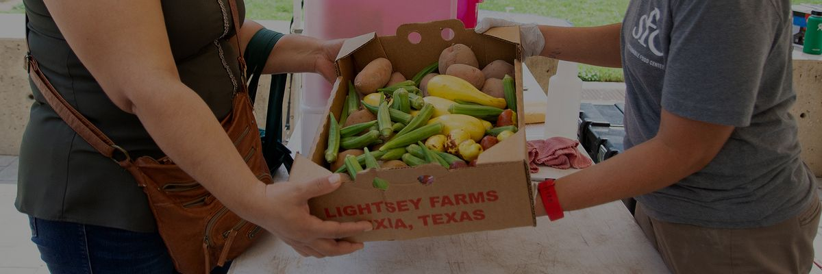 Support Local Farms and Access to Healthy Food in Central Texas