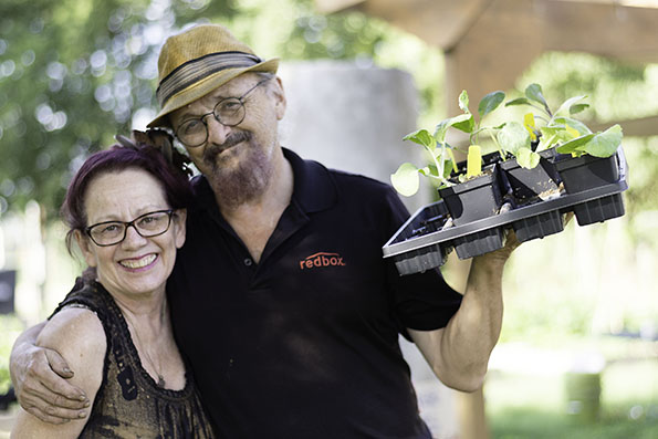 2018-09-27 STH Couple with Seedlings