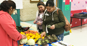Farm Stand at Hart Elementary