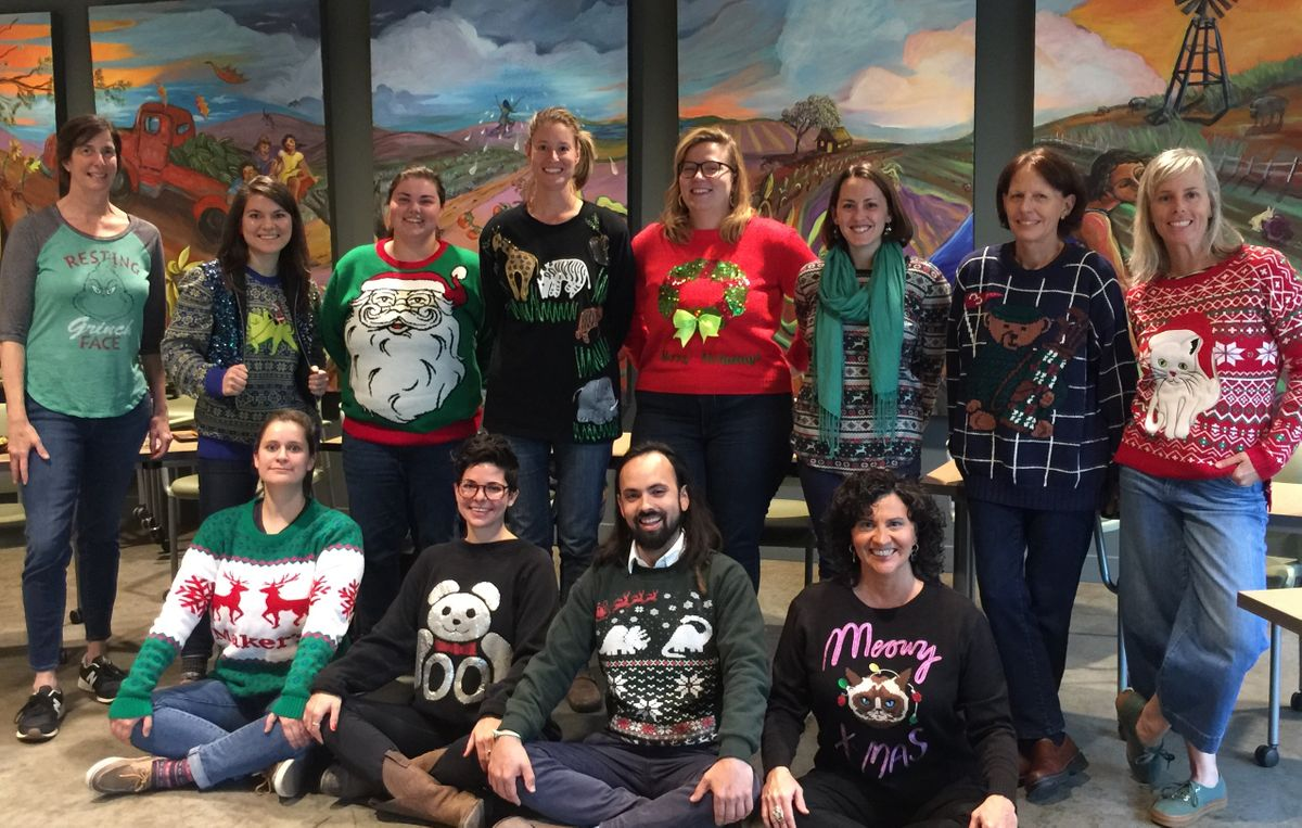 Christmas Sweater day