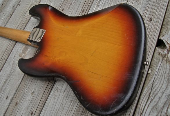 sunburst bass back
