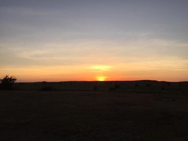 Sunset Lampasas