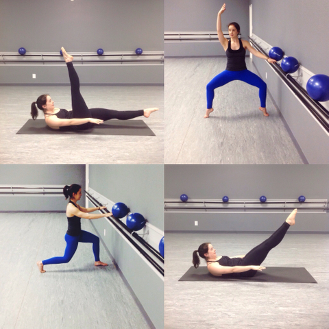Barre and Pilates