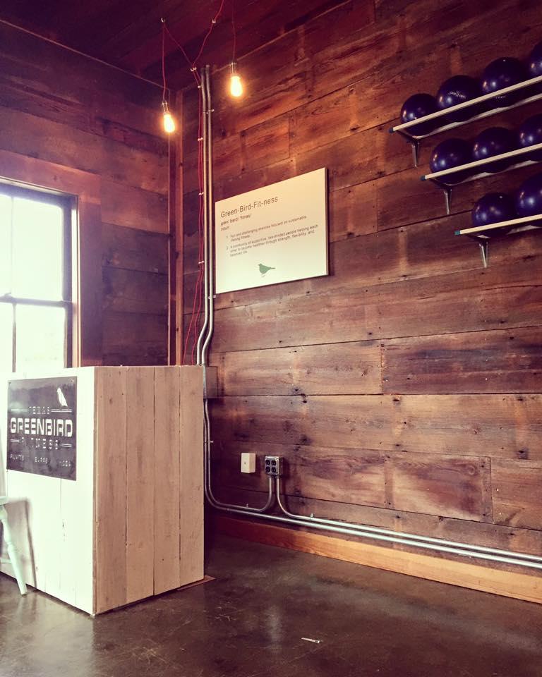 Pilates Balls and Reception Area