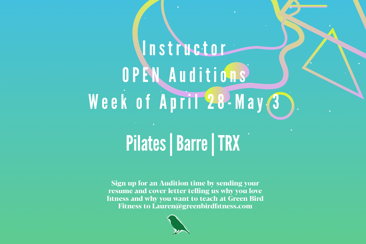 Now Hiring Fitness Instructors