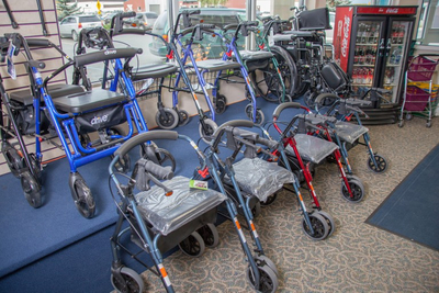 Walkers & Wheelchairs