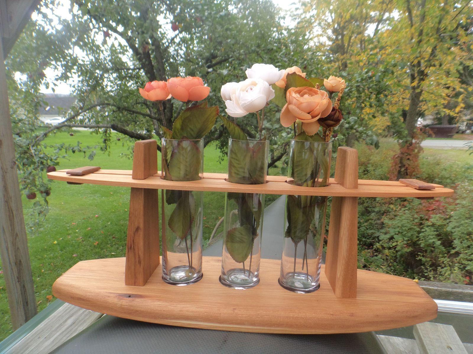 Triple Bud Vase