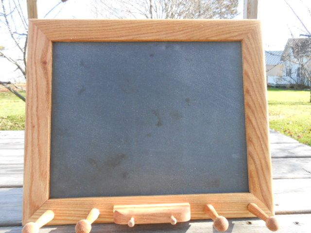Chalk Board with Pegs