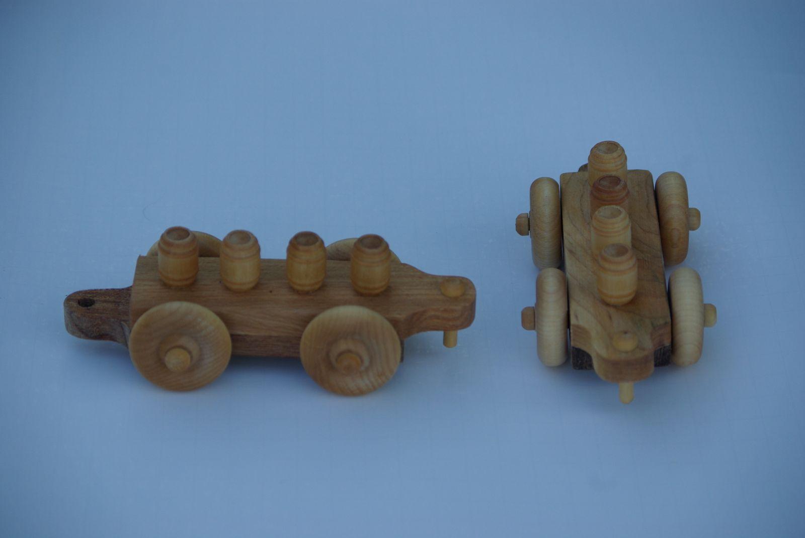 Barrel Car    small train