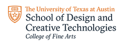 The UT at Austin School of Design and Creative Technologies College of Fine Arts logo