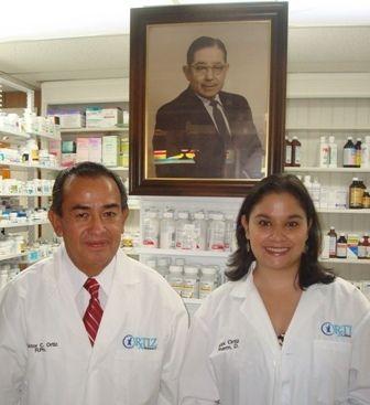 Victor C. Ortiz, R.Ph & Alejandra Ortiz, PharmD. – 2008