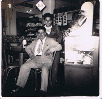 Victor S. Ortiz and son Victor C. Ortiz – 1952