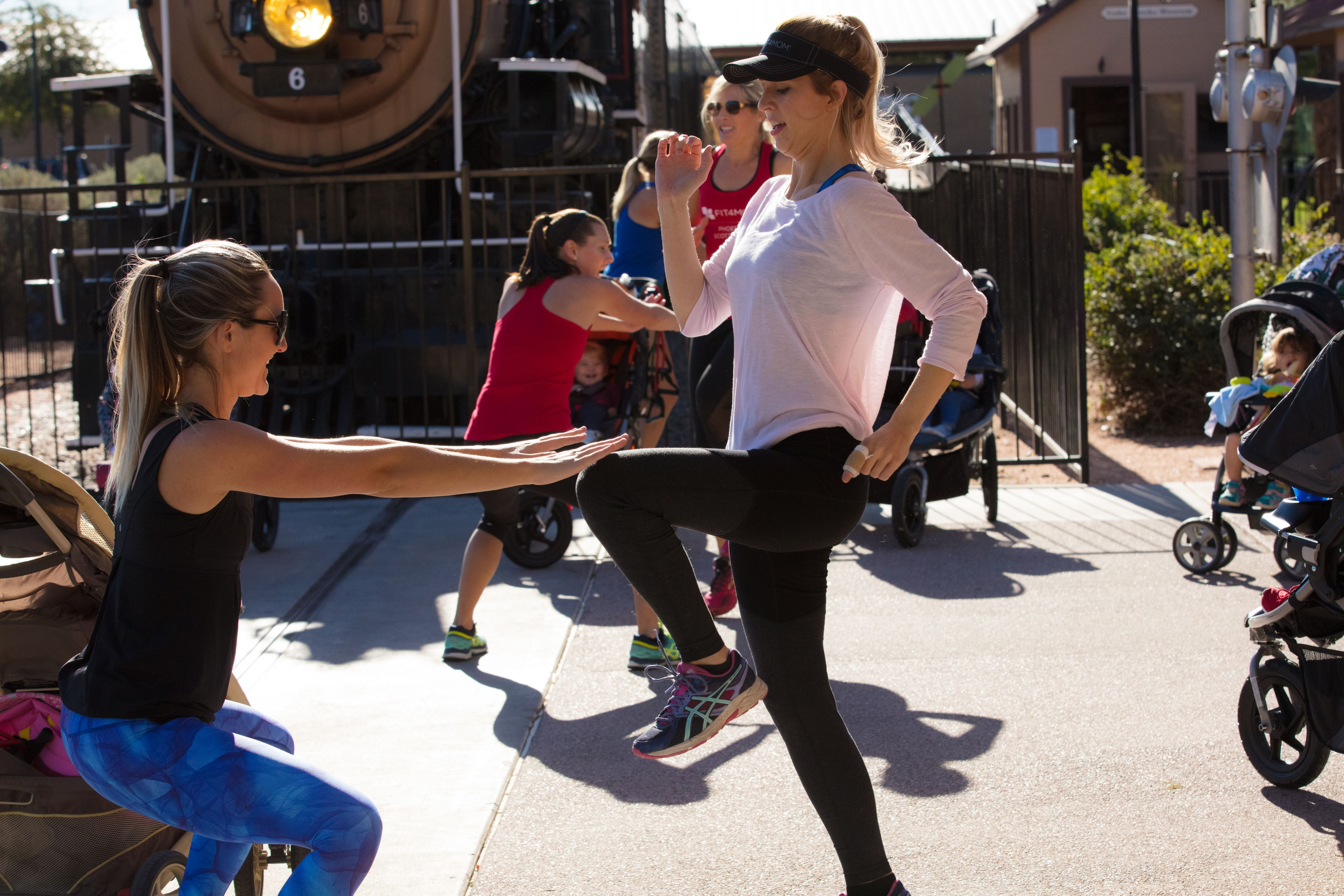 Fitness and community for moms!