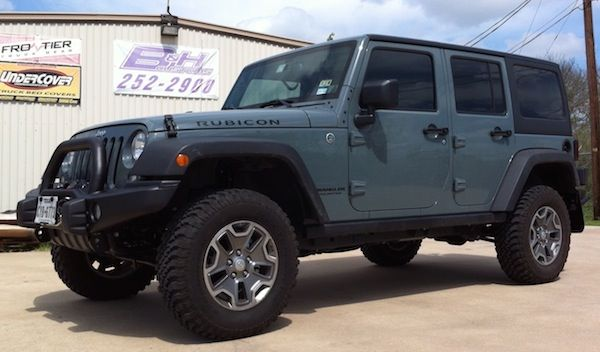 Custom Jeep Accessories in Austin, Texas