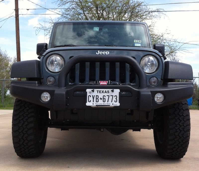 Custom Jeep Grille Guards in Austin, Texas