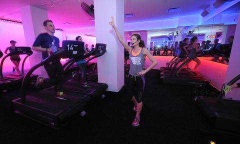 Mile High Run Club Treadmill Fitness Studio