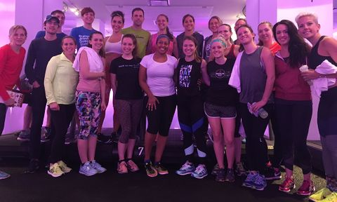 Olympian Kara Goucher at Mile High Run Club
