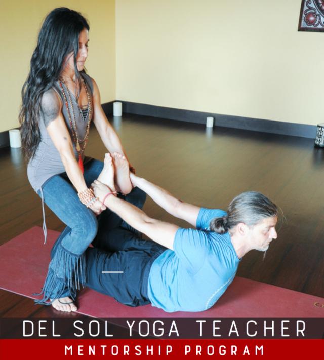 Del Sol Yoga Teacher Mentorship Program
