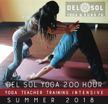 Summer Yoga Teacher Training Intensive