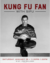Kung Fu Fan with Sifu