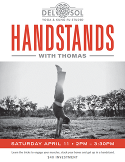 Handstands with Thomas