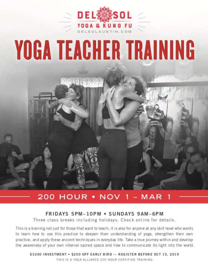 Del Sol 200 Hour Yoga Teacher Training