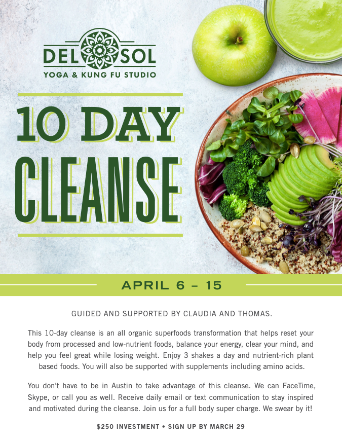 Del Sol 10 Day Cleanse!
