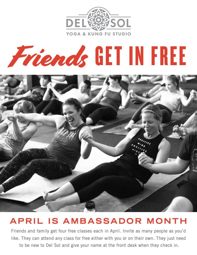 April is Ambassador Month!