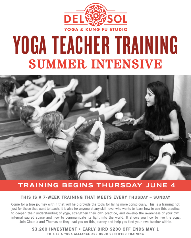 200 Hour Summer Yoga Teacher Training Intensive