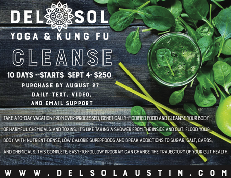 Del Sol 10 Day End of Summer Cleanse!!