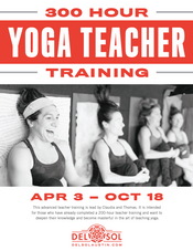 300 Hour Yoga Teacher Training!