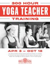 300 Hour Yoga Teacher Training!