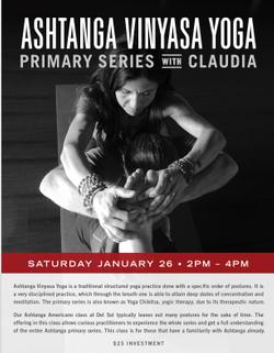 Ashtanga Vinyasa Primary Series with Claudia