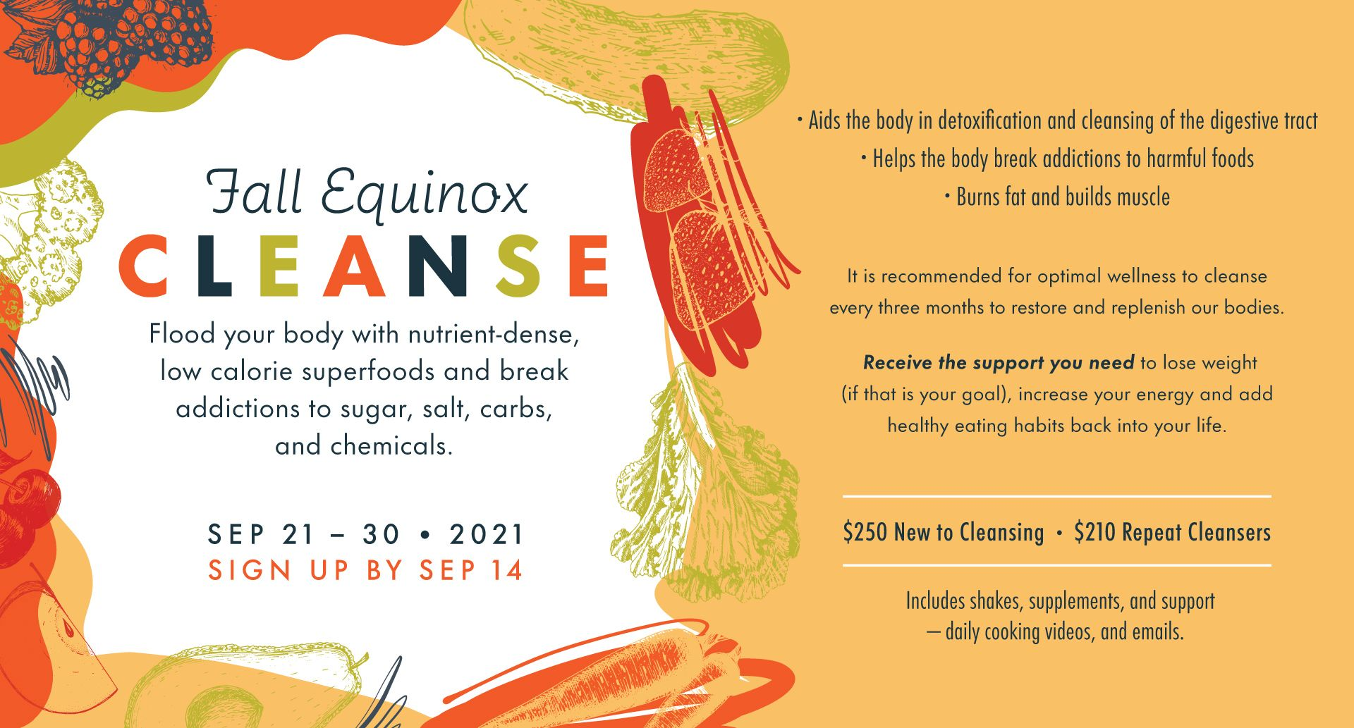 Del Sol Fall Equinox 10 Day Cleanse 2021