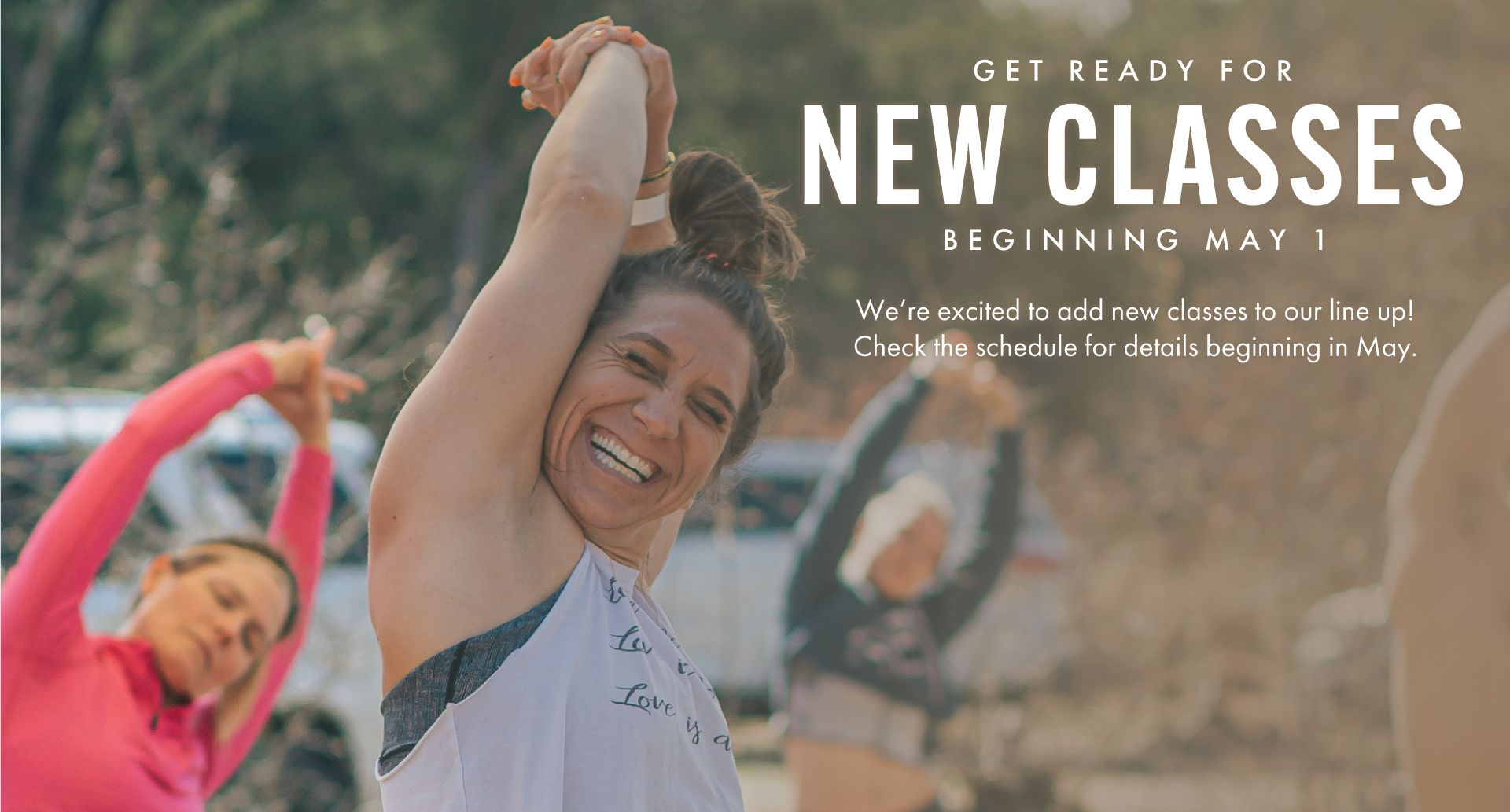 New in Person Classes Coming Soon!