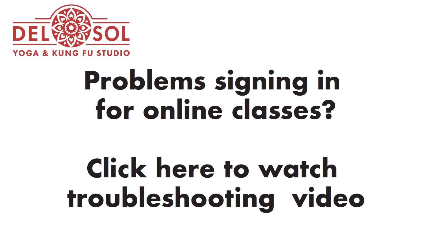 Online sign in help