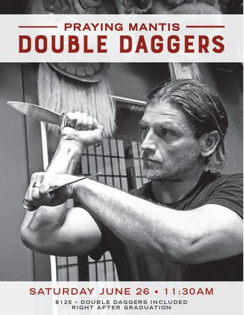 Praying Mantis Double Daggers