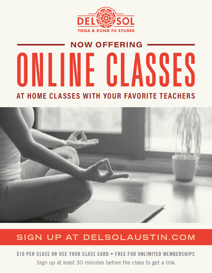 Online Classes Coming to You!