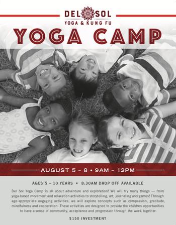 Yoga Camp!