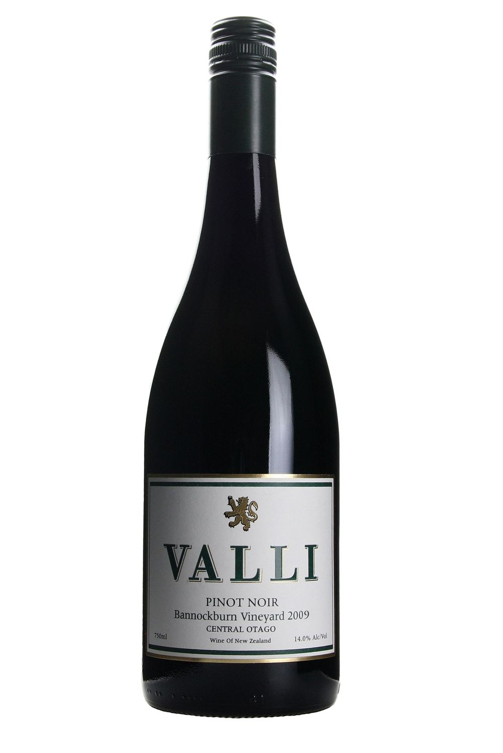 Valli Bannockburn Vineyard Pinot Noir 2009