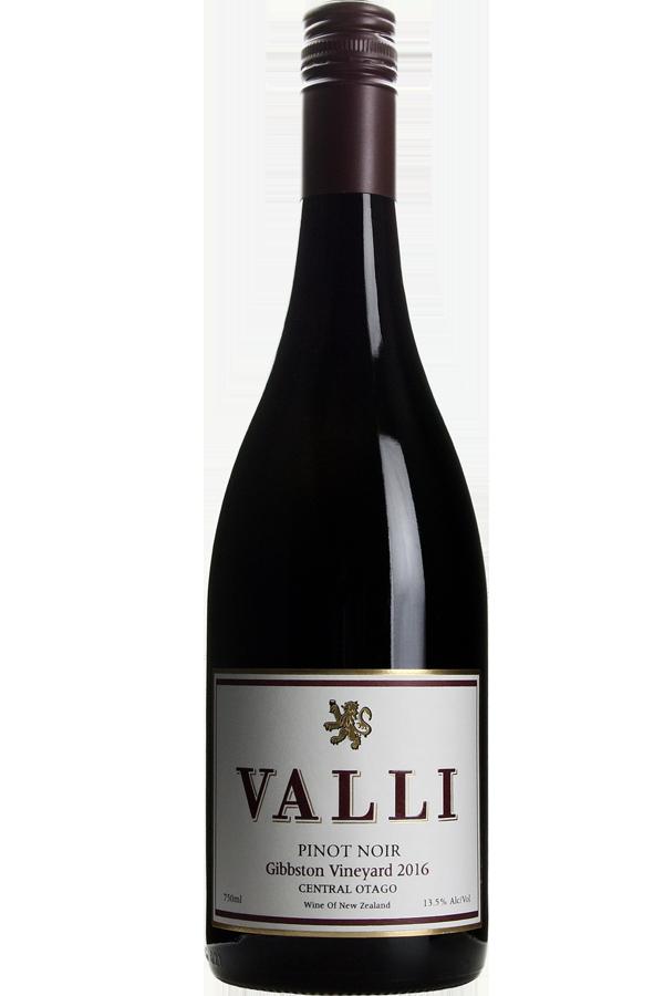 Valli Gibbston Vineyard Pinot Noir