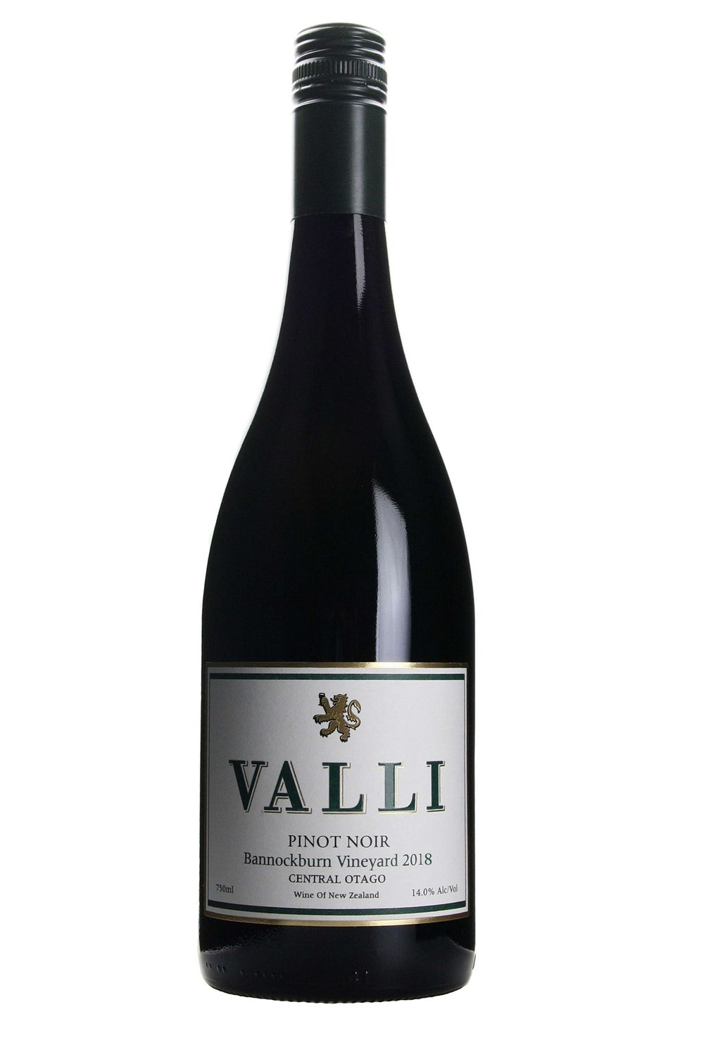 Valli Bannockburn Vineyard Pinot Noir 2018