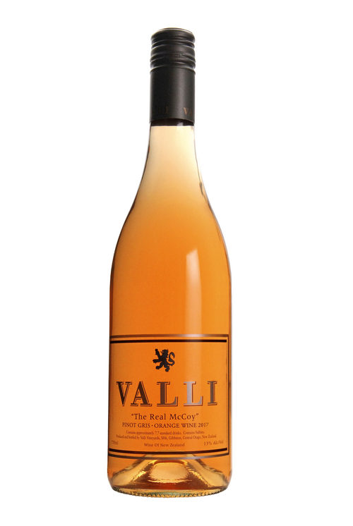 "Valli ""The Real McCoy"" Pinot Gris Orange Wine"
