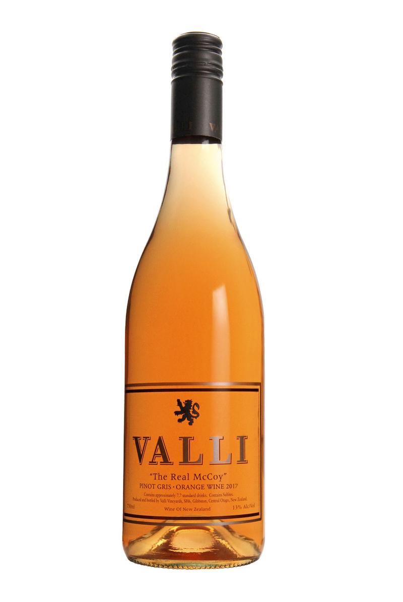 "Valli ""The Real McCoy"" Pinot Gris Orange Wine"