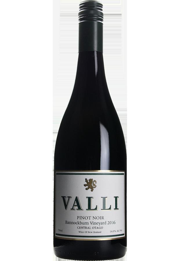 Valli Bannockburn Vineyard Pinot Noir