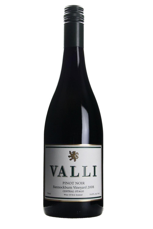 Valli Bannockburn Pinot noir 2008