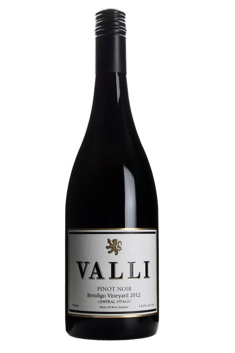 Valli Pinot Noir 2012 Bendigo - Library release