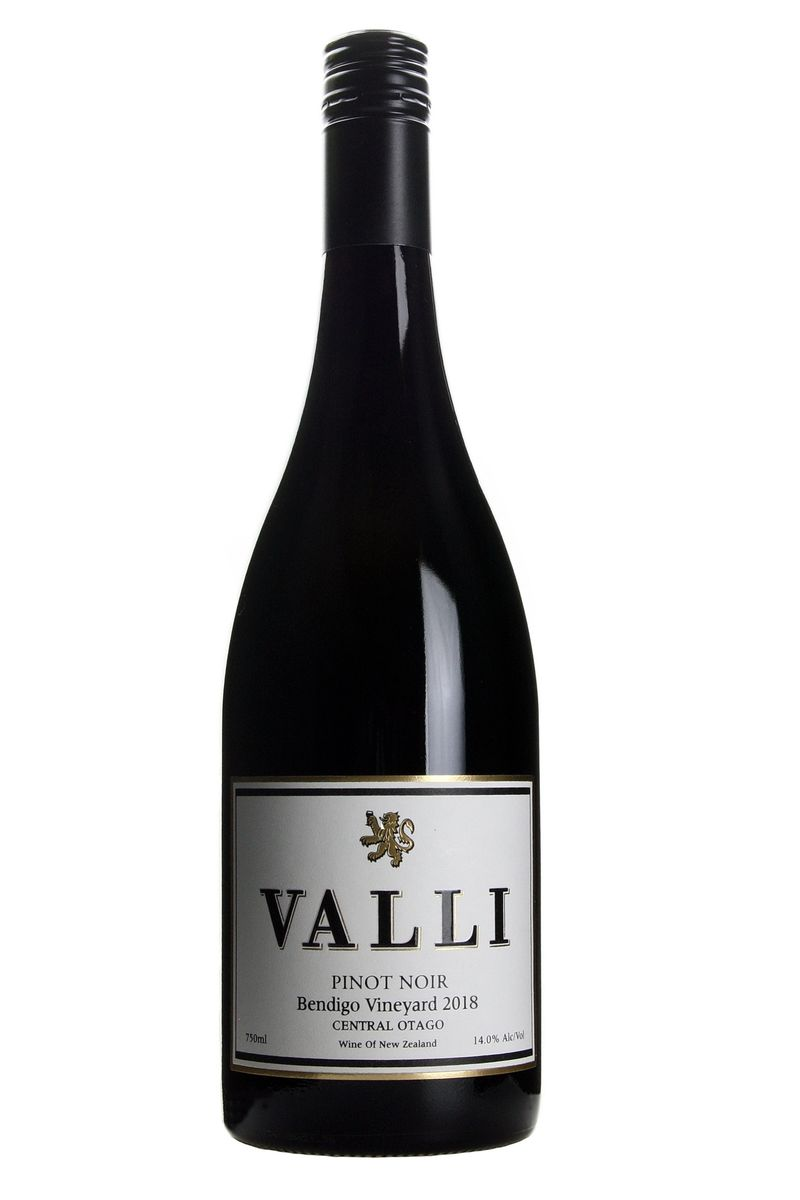 Valli Bendigo Vineyard Pinot Noir 2018